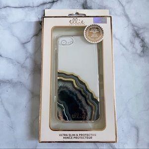 Ellie Dark Gold Agate iPhone 6 / 7 / 8 / SE